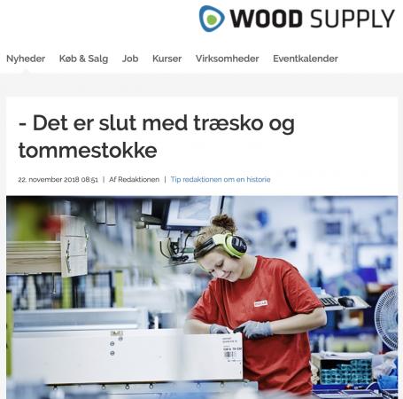 Wood supply magazine